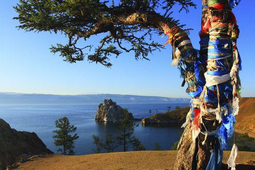 Lake Baikal Shaman Tree